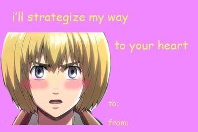 Snk valentines – Anime Valentines Day Card