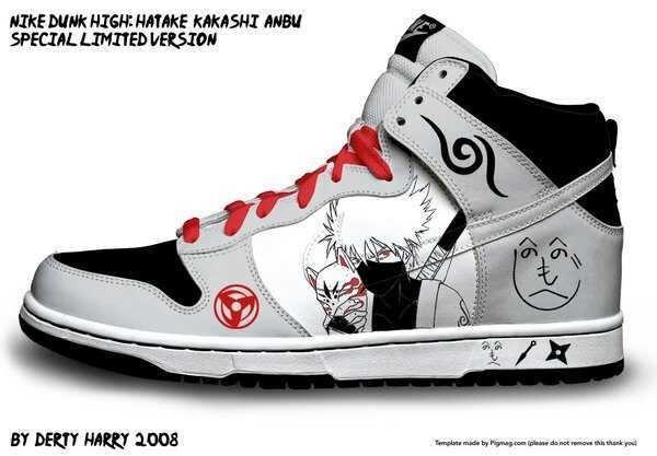 Buy Anime Nike Shoes