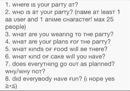 paragraph on my dream birthday party