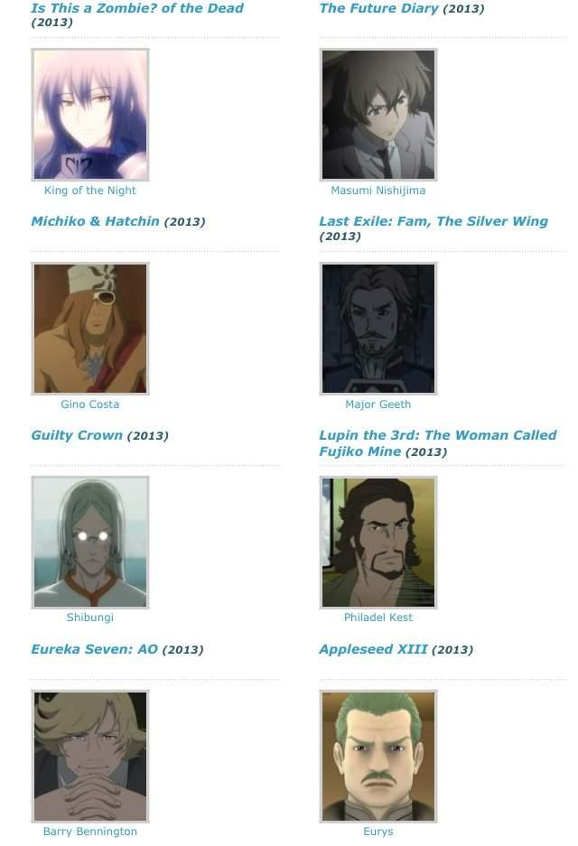 j michael tatum anime characters - photo #32