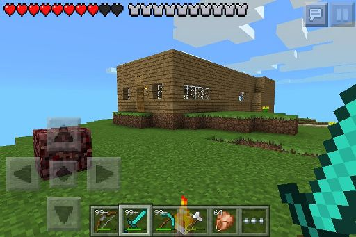My Cool Survival House Wiki Minecraft Amino