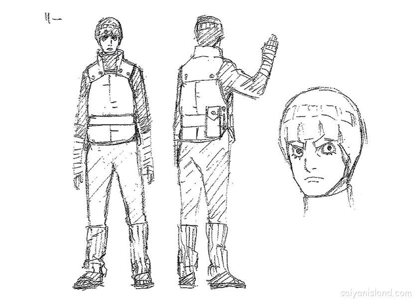 Naruto the last sakura sketch