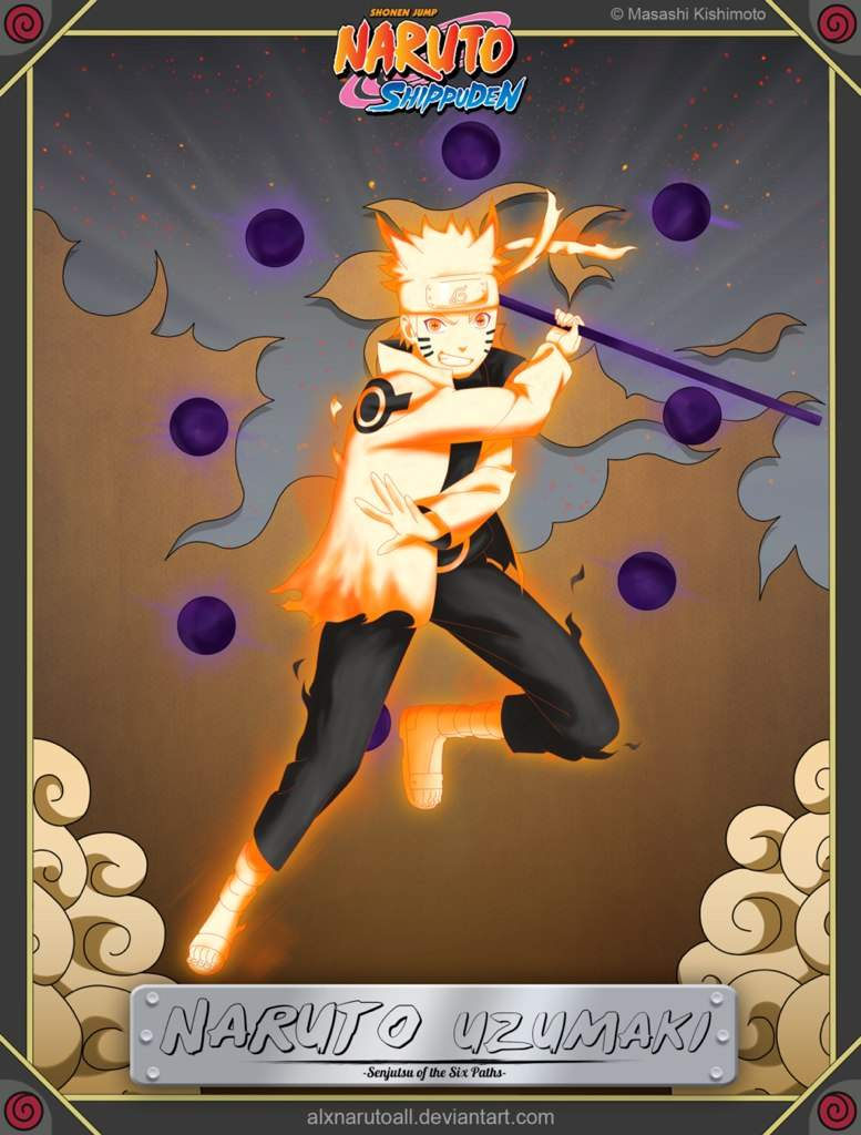 Naruto Sage Of The Six Paths Naruto's Sa...