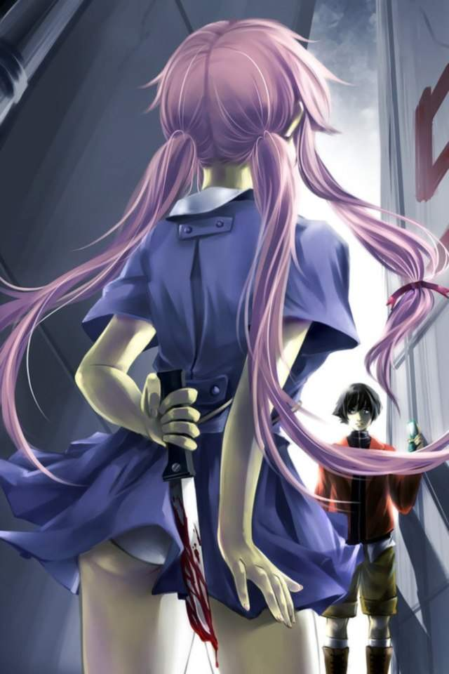 yandere anime girls mirai - photo #23