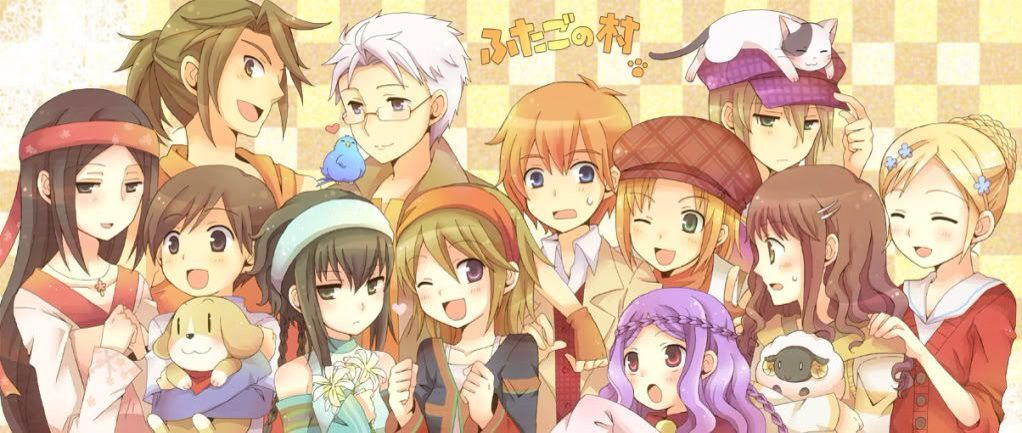 harvest moon tale of two towns 3ds
