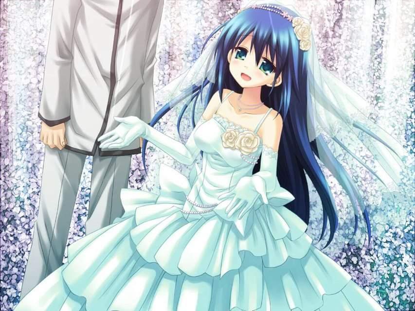 The cutest wedding dress | Anime Amino