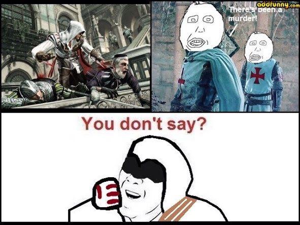 Assassins Creed Memes Video Games Amino