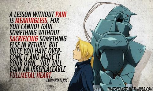 Inspirational Anime Quotes Part 1