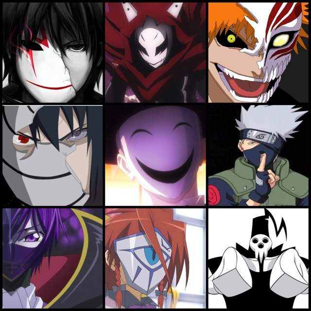 which is the coolest mask��� anime amino