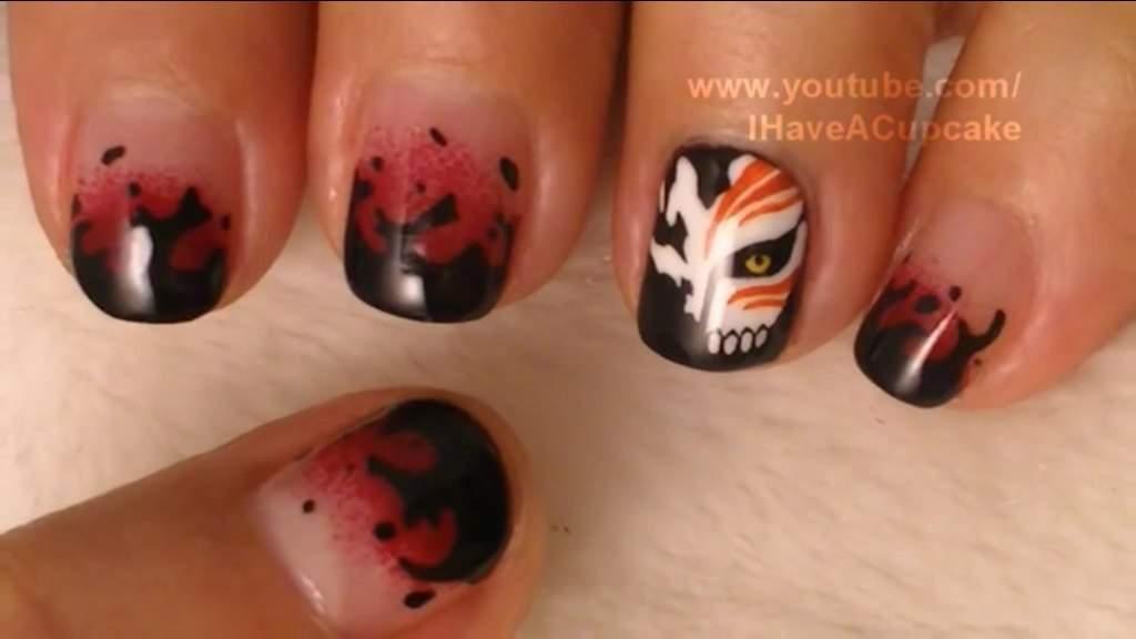 Anime nail art anime amino bleach nail art prinsesfo Gallery