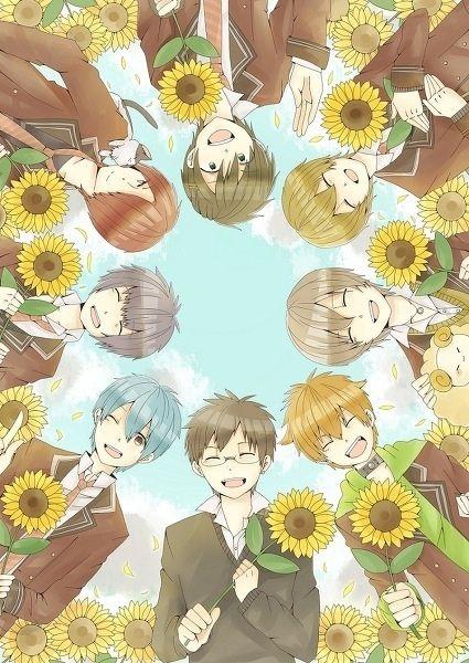 sunflower symbolism in anime anime amino. Black Bedroom Furniture Sets. Home Design Ideas