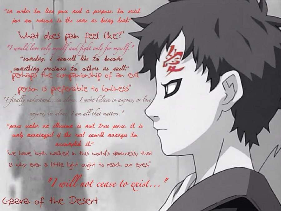Inspirational Quotes By Gaara