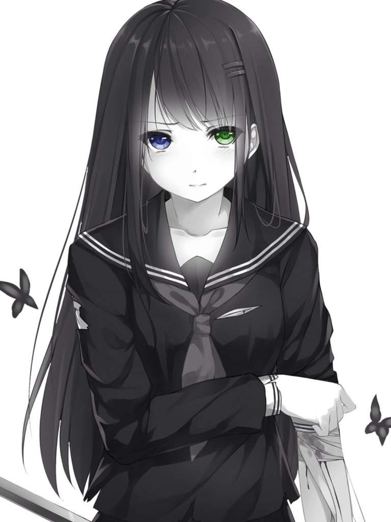 COLORED EYES TUTORIAL💛💙💜 | Anime Amino