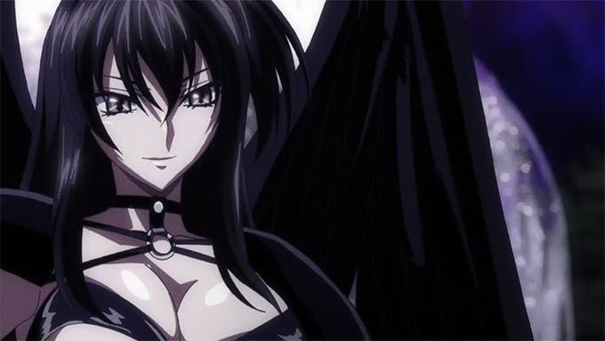 Fallen angel anime girl