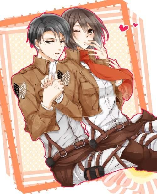 Ackerman Siblings? Levi & Mikasa