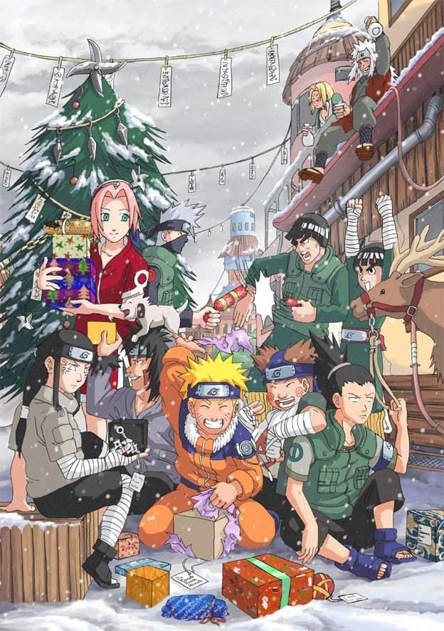 naruto christmas video games amino - Naruto Christmas