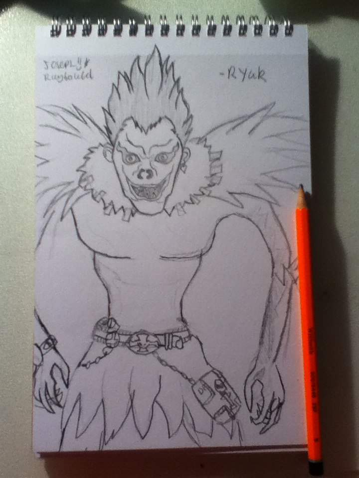 My Ryuk Drawing From Death Note Anime Amino