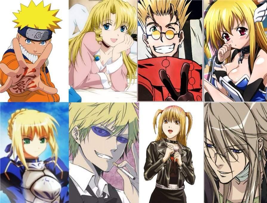 Contoh Soal Dan Contoh Pidato Lengkap Anime Characters With Short Blonde Hair