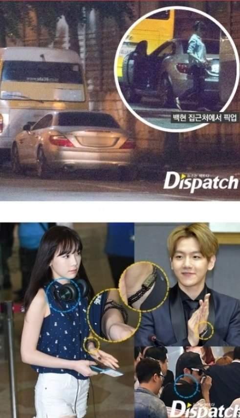 baekhyun och Taeyeon dating Issue