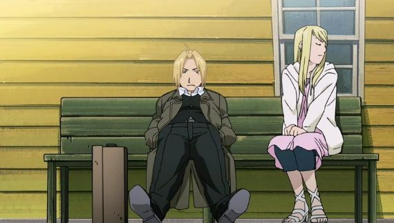 ***Spoil*** Best Moments in FMAB: Edward Proposes to Winry ...