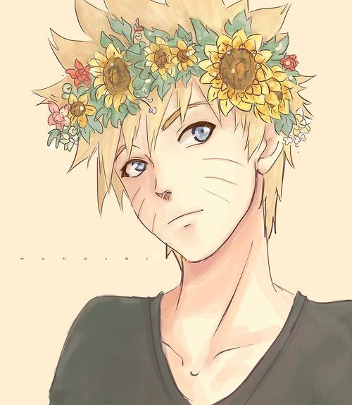 Naruto Flower Crown Anime Amino