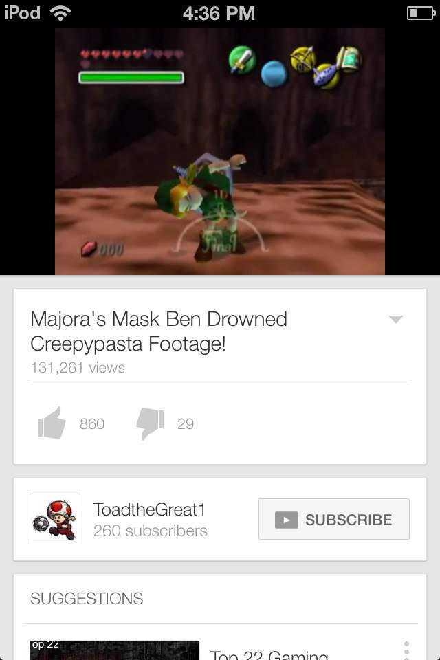 Ben drowned | Video Games Amino