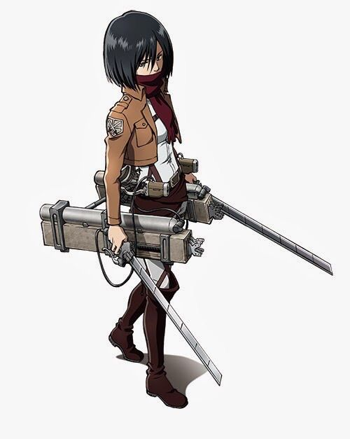 A Badass Female Titan Hunter Her Seriousness Is Really Something The Way She Kills Amazing