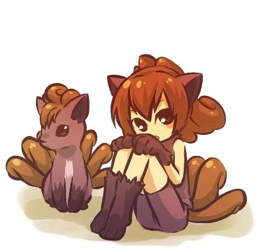 Pokemon And Human Form | Anime Amino