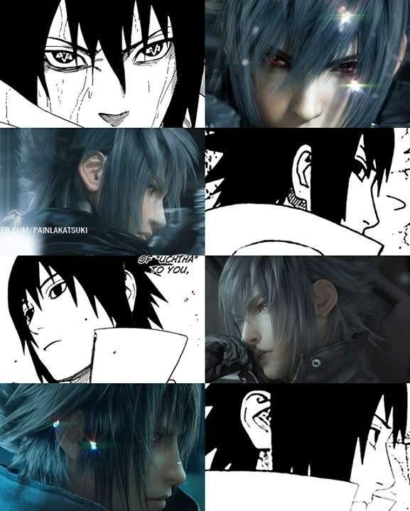 Final Fantasy And Naruto Video